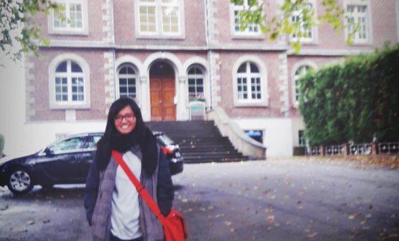Congratulation Putri!! Our First Student in Germany!
